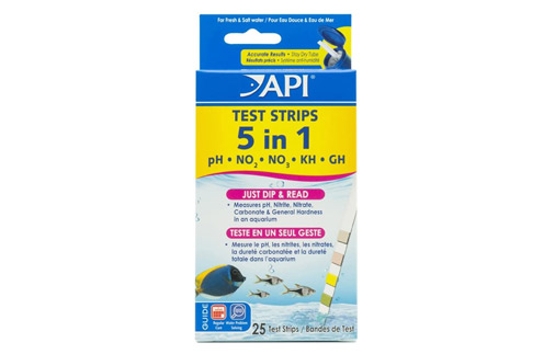 API Aquarium Water Test Strips