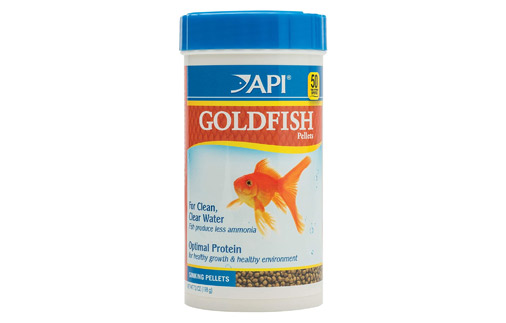 API Goldish Pellets Food