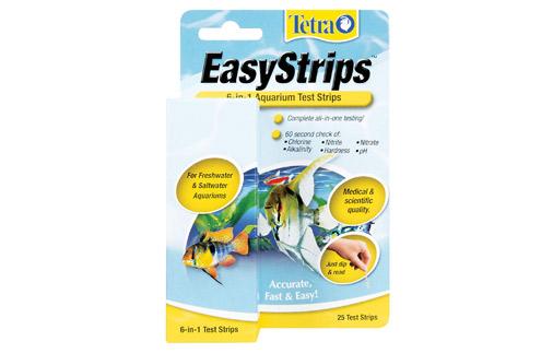 Tetra EasyStrips Aquarium Water Test Kit