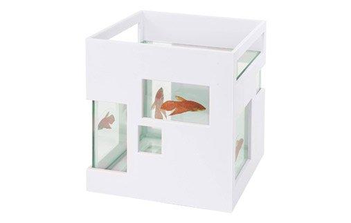 Umbra Fish Hotel Mini Aquarium Tank Bowl